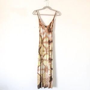 {Lucky Brand} Tye Dye Maxi Dress